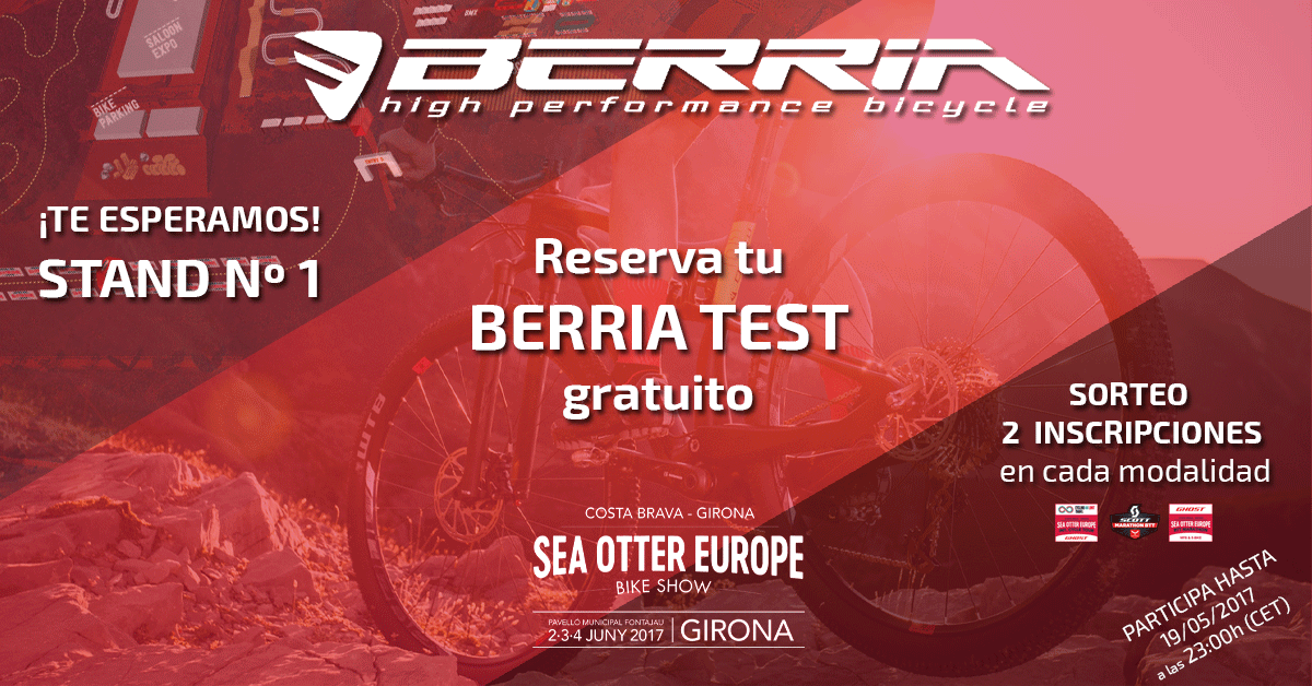 Berria Bike en la Sea Otter Europe 2017