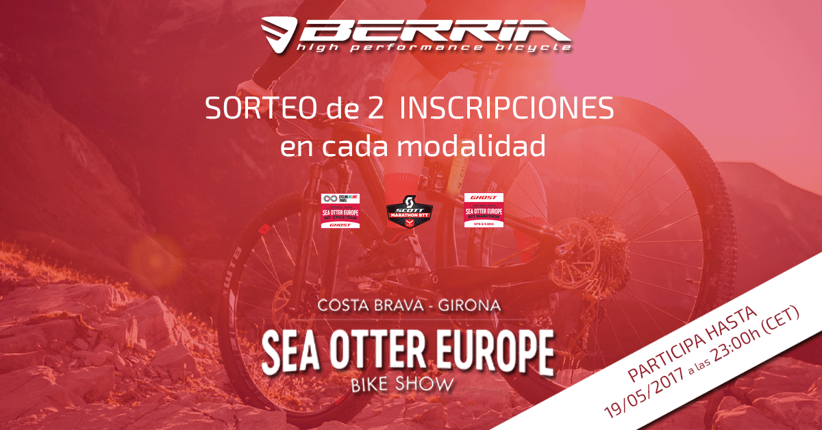 Sorteo Inscripciones Sea Otter Europe 2017